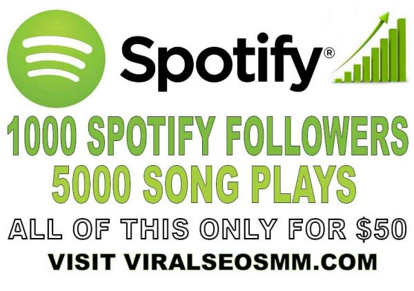 BUY SPOTIFY PLAYS AND FOLLOWERS